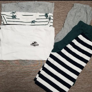 GU - ジーユー 半袖パジャマ 3着セット