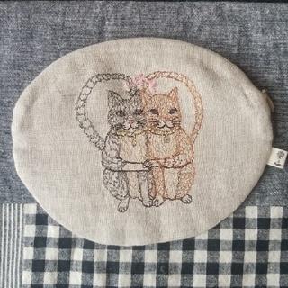 アッシュペーフランス(H.P.FRANCE)のCORAL&TUSK  Cat Loveポーチ(ポーチ)
