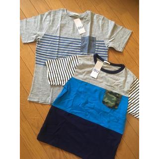 ジーユー(GU)の☆150センチ☆GU☆半袖Tシャツ2枚☆新品☆(Tシャツ/カットソー)