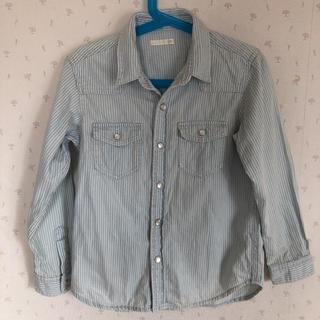 ジーユー(GU)のGU ストライプシャツ120(Tシャツ/カットソー)
