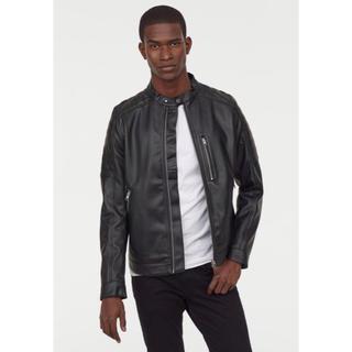 エイチアンドエム(H&M)の【H&M】 新作&新品 BALMAIN モデル ライダースジャケット L(ライダースジャケット)