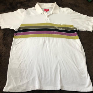 シュプリーム(Supreme)のsupreme chest stripe polo shirts(ポロシャツ)