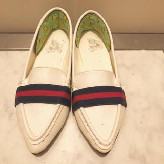 ザラ(ZARA)のフラットシューズ  22.5(ローファー/革靴)