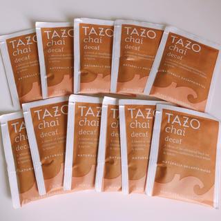 スターバックスコーヒー(Starbucks Coffee)のTAZO チャイティー decaf スタバ(茶)