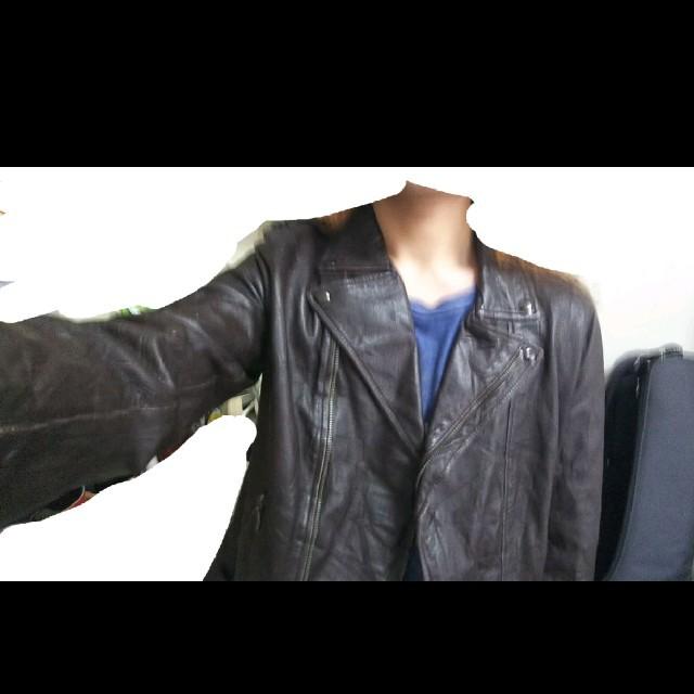 GAP(ギャップ)のラムレザーライダース メンズのジャケット/アウター(ライダースジャケット)の商品写真