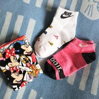 ナイキ(NIKE)の新品 NIKEくつ下 Disneyタオル セット(靴下/タイツ)