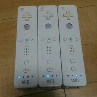 Wii - ⑫ wiiリモコン 白 3本セット