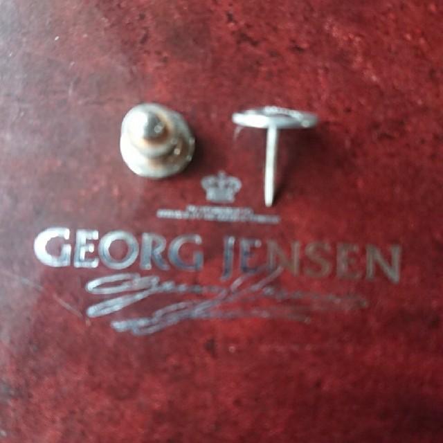 Georg Jensen(ジョージジェンセン)のジョージジェンセン タイピン カフス 2点セット メンズのファッション小物(カフリンクス)の商品写真