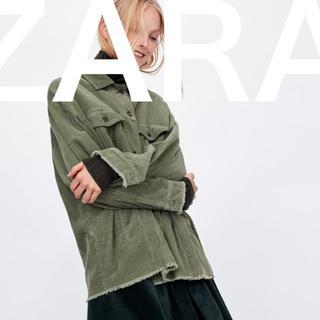 ザラ(ZARA)のZARA 【タグ付き】タグ付き 新品☆ ZARA コーデュロイ ジャケット 秋冬(Gジャン/デニムジャケット)