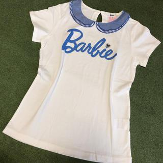 バービー(Barbie)の未使用バービー2/160cm半袖Tシャツカットソー白(Tシャツ/カットソー)