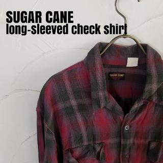 シュガーケーン(Sugar Cane)のSUGAR CANE/シュガーケーン 縮緬 チェック シャツ(シャツ)