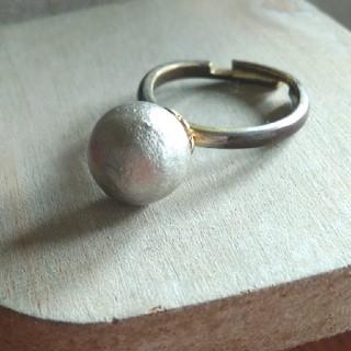 ブルーム(BLOOM)のBLOOM  コットンパールリング フリーサイズ(リング(指輪))