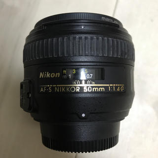 Nikon - AF-S NIKKOR 50mm F1.4G ニコン 単焦点