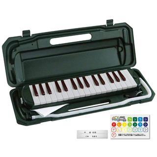 鍵盤 ハーモニカ ピアニカ メロディーピアノ  ブラック(キーボード/シンセサイザー)