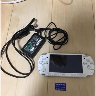 PlayStation Portable - PSP 2000本体(充電器、メモリースティック1.0GB付)