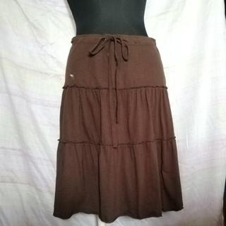 アバクロンビーアンドフィッチ(Abercrombie&Fitch)のAbercrombie&Fitch スカート XS ブラウン(ひざ丈スカート)