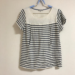 ニシマツヤ(西松屋)の授乳服 半袖(マタニティトップス)