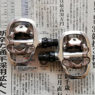 シマノ(SHIMANO)のシマノ SPD片面ビンディングペダル PD-A520(パーツ)