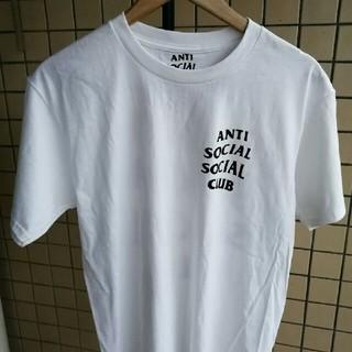 アンチ(ANTI)のAnti social social club Tシャツ Mサイズ ホワイト(Tシャツ/カットソー(半袖/袖なし))