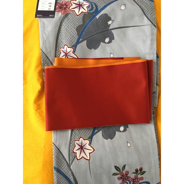 浴衣・帯 セット YO-05 女性用 半幅帯 レディースの水着/浴衣(浴衣)の商品写真