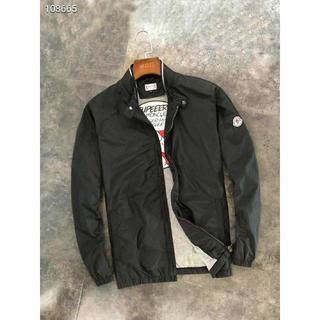 モンクレール(MONCLER)の人気商品Monclerダスターコートジャケット/黒い(ブルゾン)