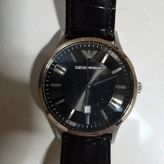 アルマーニ(Armani)のARMANI腕時計(レザーベルト)