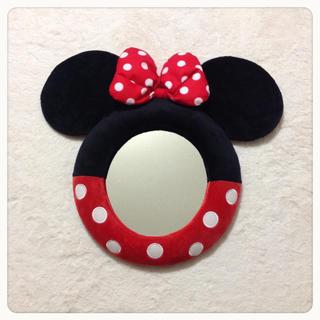 Disney - ミニー壁掛け鏡