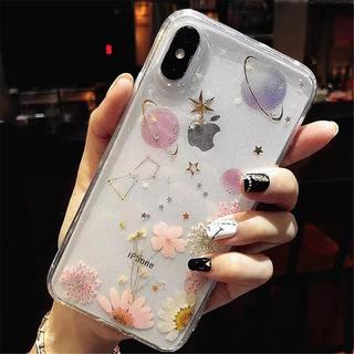 【予約商品】ハンドメイド ドライフラワー  iPhoneケース(スマホケース)