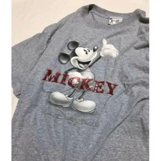 ディズニー(Disney)の♡ WDW Mickey mouse T-shirt ♡ (US古着)(Tシャツ/カットソー(半袖/袖なし))