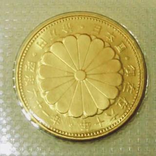 天皇陛下 御在位六十周年 記念硬貨 10万円(貨幣)