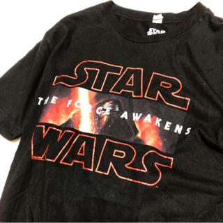 ディズニー(Disney)の♡ STARWARS episode7 T-shirt ♡ (US古着)(Tシャツ/カットソー(半袖/袖なし))