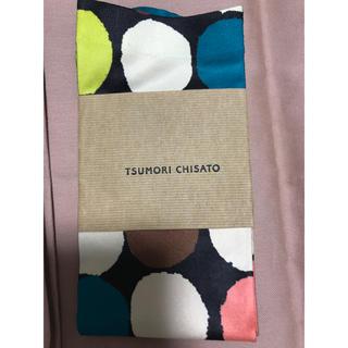 ツモリチサト(TSUMORI CHISATO)のツモリチサト 新品 希少 生産中止 膝下 ソックス カラフル ドット デニムにも(ソックス)