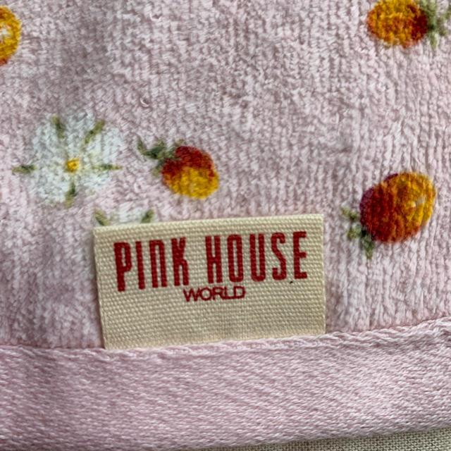 PINK HOUSE(ピンクハウス)のPINK HOUSE ハンドタオル インテリア/住まい/日用品の日用品/生活雑貨/旅行(タオル/バス用品)の商品写真