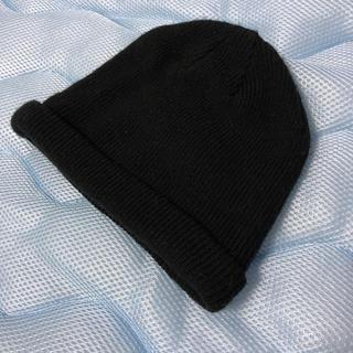 ウィゴー(WEGO)の‼️早い者勝ち‼️ニット帽(黒)(ニット帽/ビーニー)
