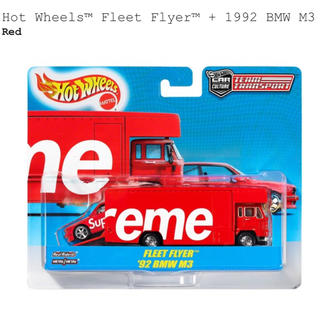 シュプリーム(Supreme)のSupreme Hot Wheels Fleet Flyer 1992 BMW (ミニカー)