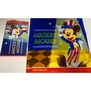 ディズニー(Disney)の【送料無料】Disney ミッキーマウス ハンドタオル 新品(タオル)