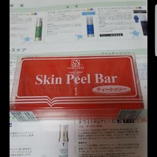 0423①サンソリット ピールバー 赤 ティートゥリー ニキビ・脂性肌(洗顔料)