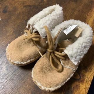ベビーギャップ(babyGAP)のbabyGAP ファーストシューズ 赤ちゃん 室内履き モカシン(その他)