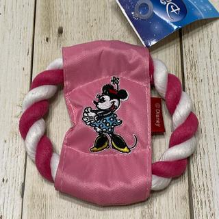 ディズニー(Disney)の新品 未使用★犬用おもちゃ フリスビー  ディズニー ミニー ピンク(犬)
