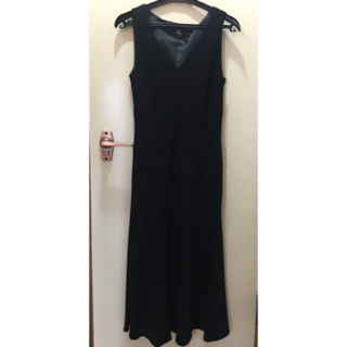 カルバンクライン(Calvin Klein)のCalvin klein ワンピース ブラック ドレス(ミディアムドレス)
