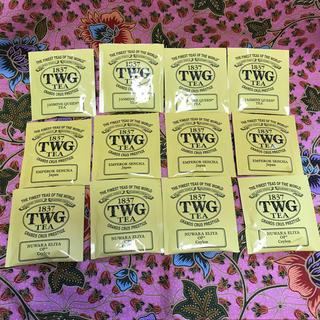 TWGの紅茶ティーバッグ12個セット(茶)