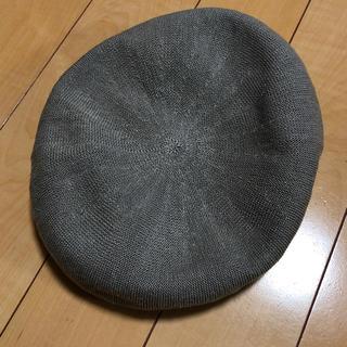 アーバンリサーチ(URBAN RESEARCH)の URBAN RESEARCH DOORS グレー ベレー帽 (ハンチング/ベレー帽)