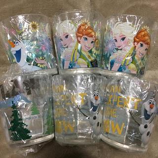 アナトユキノジョオウ(アナと雪の女王)のディズニー アナ雪 オラフ  コップ(グラス/カップ)