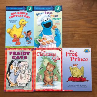 子供向け 英語ブックレット5冊  洋書