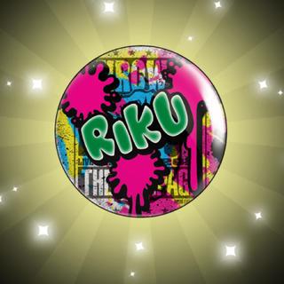 EXILE TRIBE - RIKU缶バッチ