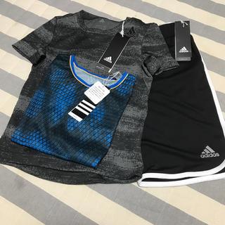 アディダス(adidas)のadidas120セット半袖2枚とパンツ(パンツ/スパッツ)