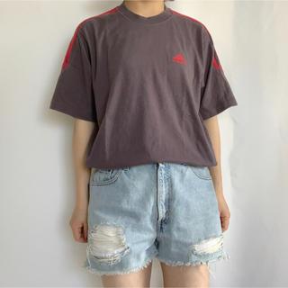 アディダス(adidas)のadidas ロゴ刺繍TEE(Tシャツ/カットソー(半袖/袖なし))