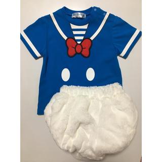 ディズニー(Disney)のドナルド 上下セット(Tシャツ/カットソー)