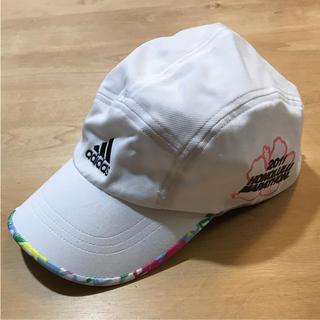 アディダス(adidas)のadidas アディダス ランニング キャップ 帽子(ウェア)
