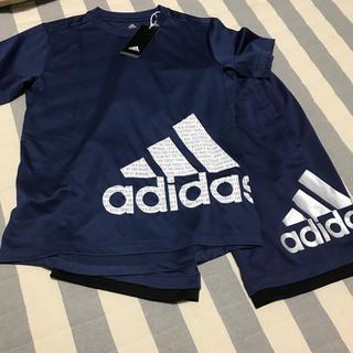 アディダス(adidas)のadidas150半袖とパンツセット(パンツ/スパッツ)